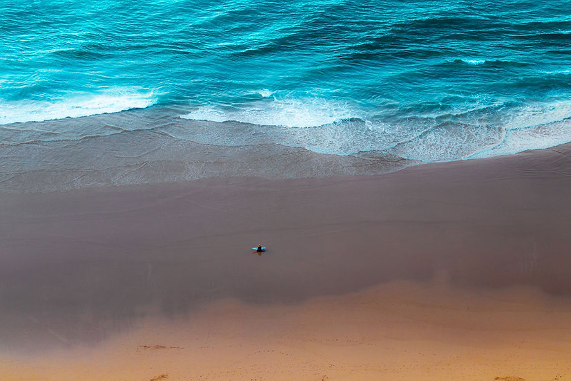 waiting for the next wave