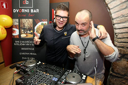 Dj Popi Radio Center Pižama Partz Tony Cetinski Dvorni Bar Ljubljana