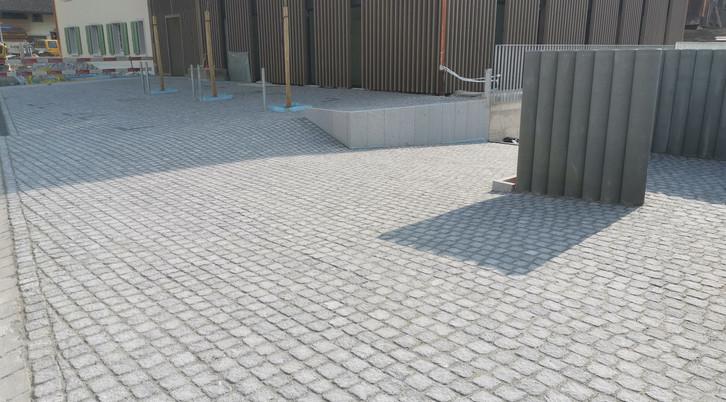Natursteinpflästerung Brunnacherstrasse,
