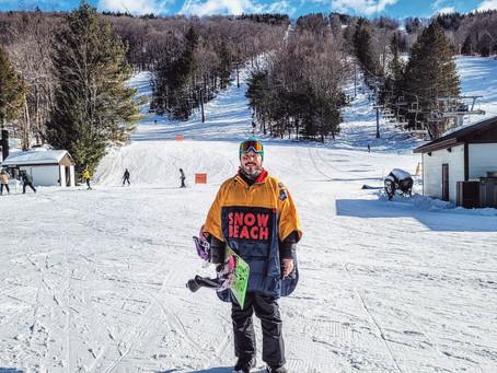 #SnowBeach