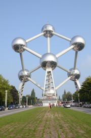 Atomium,Brussels,Belgium