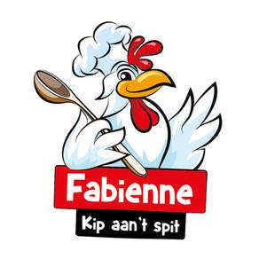 Kip aan 't spit Fabienne