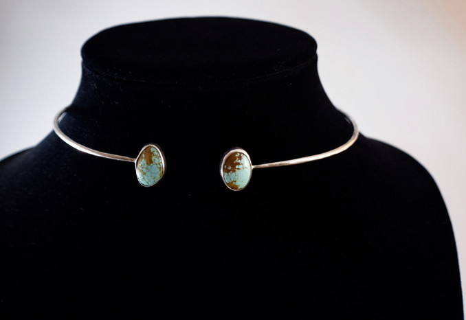 Open-ended Turquoise Choker [2017]