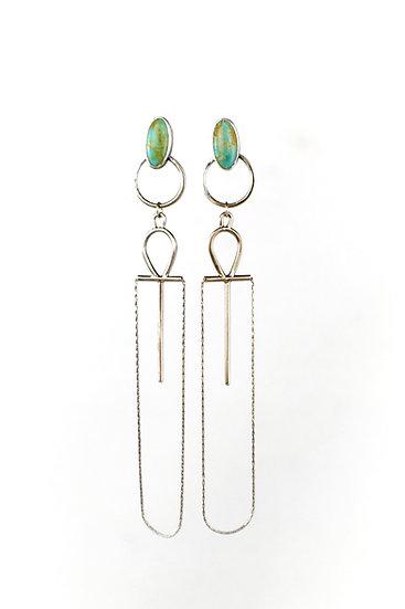 Ankh Statement Earrings