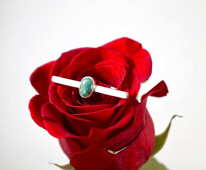 Sleek Modern Turquoise Ring