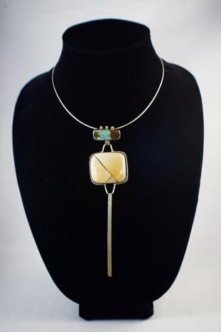 Turquoise, Brecciated Mookiate Pendant [2018]