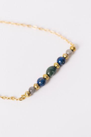 """""""Classic"""" African Jade, Labradorite, Lapis"""