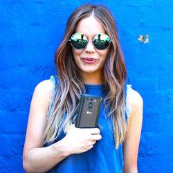 Bluecool girl