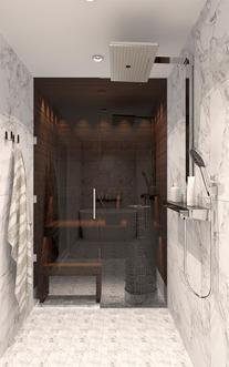 Kylpyhuone marmori