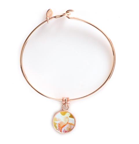Rose Gold Round Bracelet - Pentecost