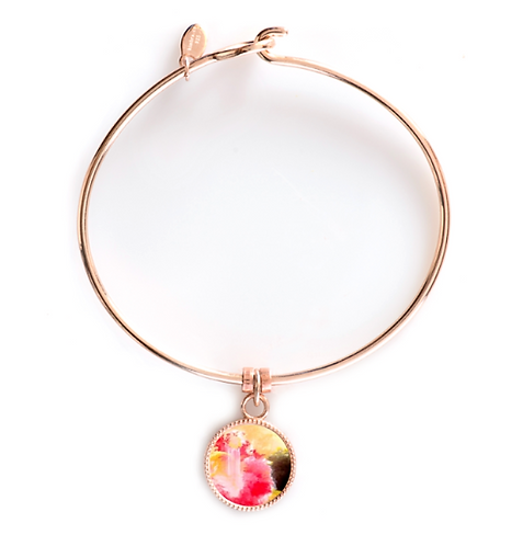Rose Gold Round Bracelet - Joy of the Lord