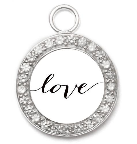 Evalina Pendant - Love