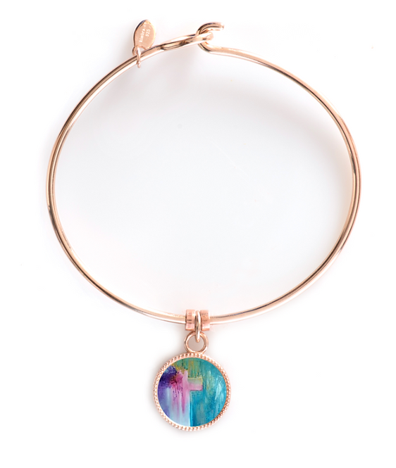 Rose Gold Round Bracelet - Ministry of Reconciliation