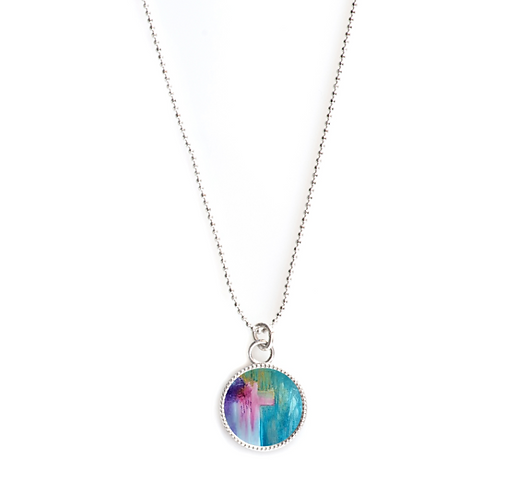 Sterling Silver Round Necklace - Ministry of Reconcilliation