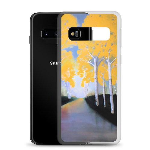 Samsung Case - Yellow Wood