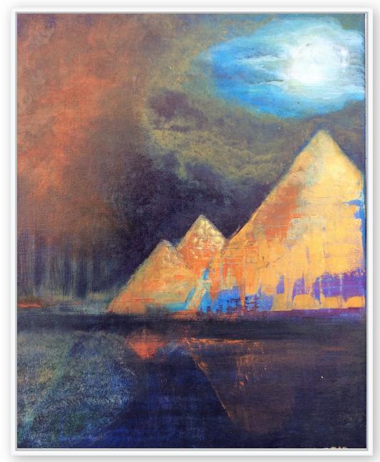 EGYPT - CANVAS PRINT 16 x 20