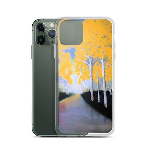 iPhone Case - Yellow Wood