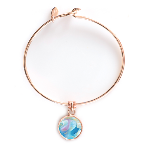 Rose Gold Round Bracelet - Intercessor