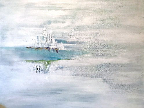 ON EARTH AS IT IS IN HEAVEN - PAINTING