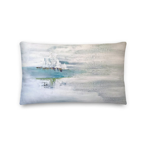 Premium Pillow - On Earth as it is in Heaven