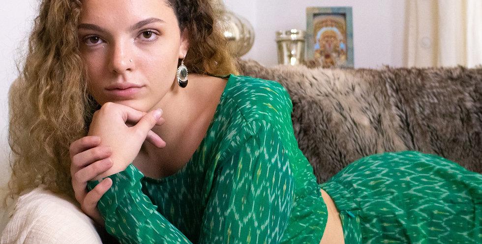 Emerald Adivasi Set
