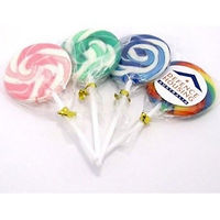 lollipops, swirly lollipops, multi coloured lollipops, rainbow lollipops, pride lollipops, pride merchandise, pride giveaways, promotional lollipops, promotional sweets, promotional confectionery, custom printed lollipops, pride, festival