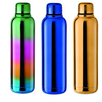 flask, rainbow flask, multi coloured flask, rainbow bottle, multi coloured bottle, rainbow drinkware, multi coloured drinkware, promotional drinkware, promotional flask, promotional bottle, pride, festval, pride mechandise