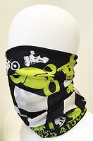 versatoob, neckwarmer, motorbike merchandise, bespoke headwear, versatile multi-use neckwarmer, neck tube, motorcycle live