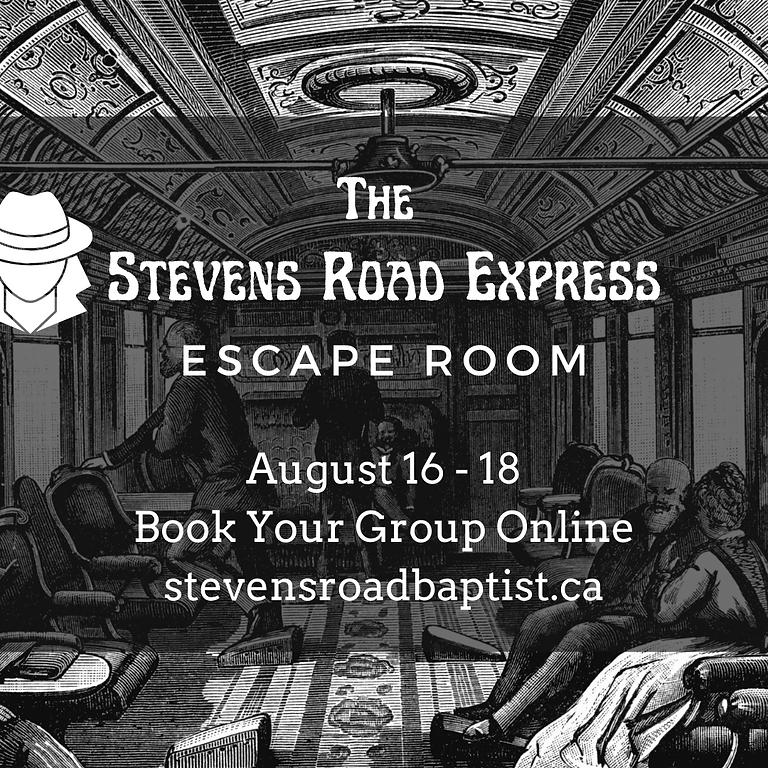 Escape Room: The Stevens Road Express