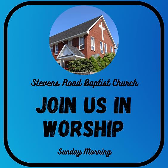 Sunday Worship - July 4