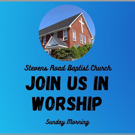 Sunday Worship - July 25