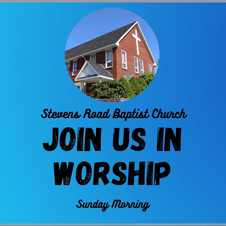 Sunday Worship - October 24th