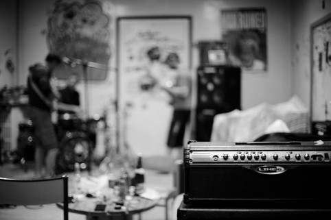 DBM's rehearshal room