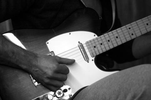 Mister D's guitar