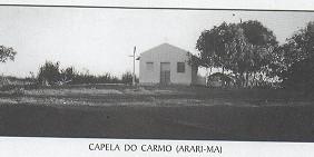 O povoado Carmo e o ferro místico