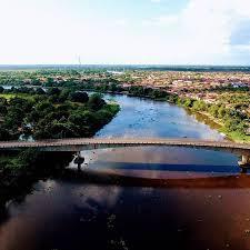 Ponte Itapoã, em Arari-MA. Imagem retirada da internet.