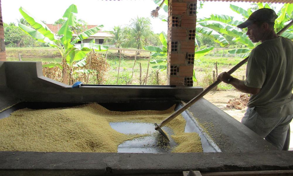 Produção de farinha d'água. FOTO: Google