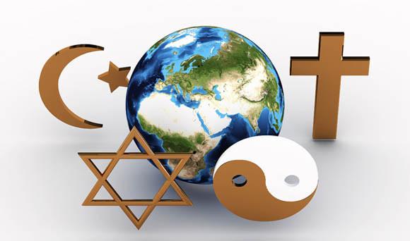 Pluralidade religiosa. Imagem da internet