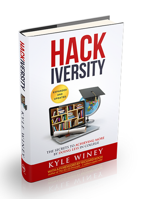 HACKiversity: The Secrets to Achieving More By Doing Less in College (PDF )