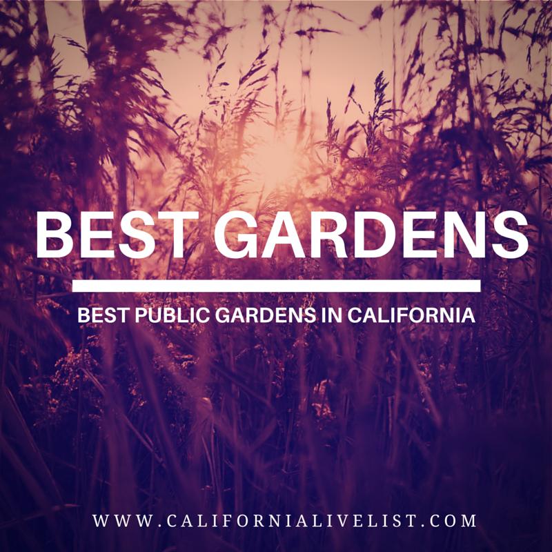 Best Public Gardens in California