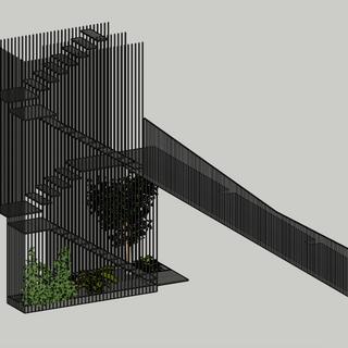 Arcana Staircase and Bridge