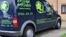 Brough Gardens launch their new website.