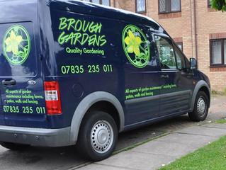Brough Gardens launch their new website.