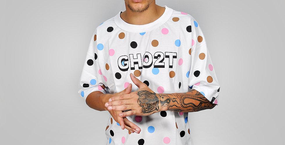 Camiseta Ghost White Collors Ball