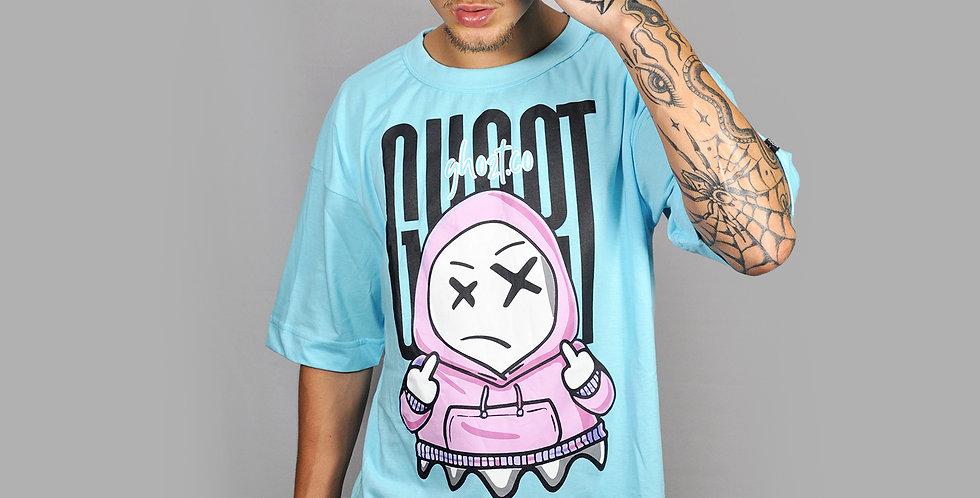 Camiseta Ghost Hoodie Blue