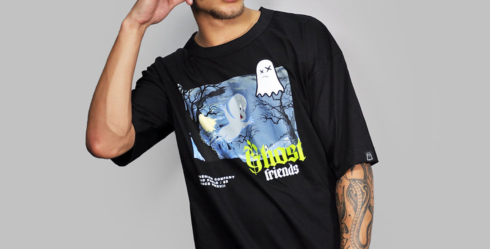 Camiseta Ghost Gasper Black