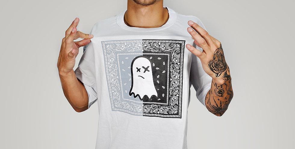 Camiseta Ghost Bandana Black Grey