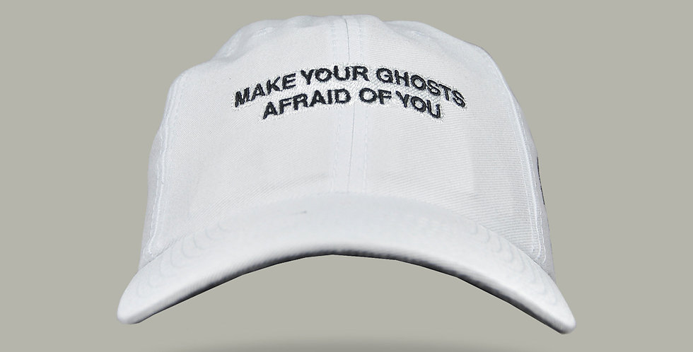 Bone Aba Curva Ghost Make Your White