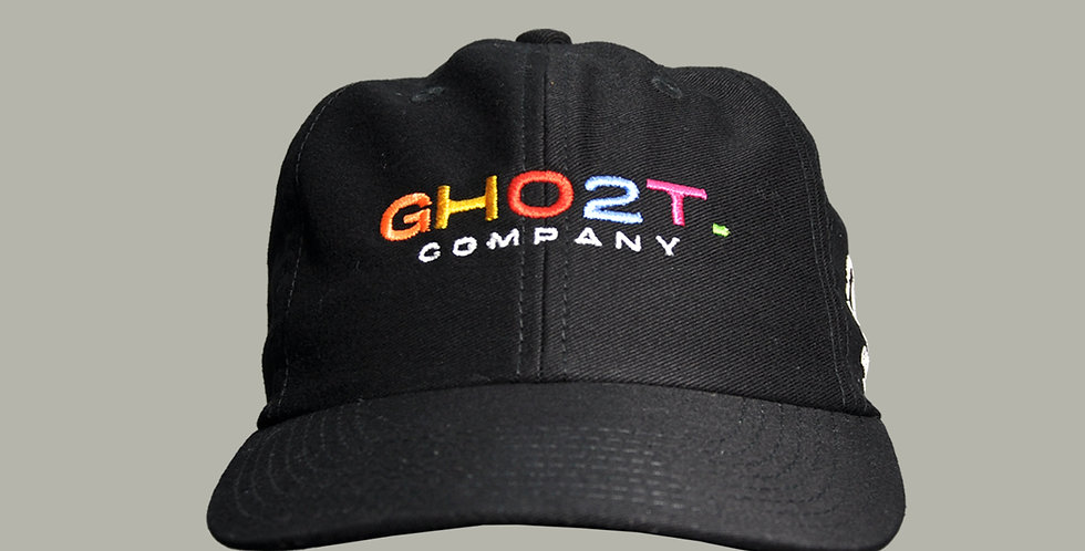 BONÉ GHOST DAD HAT BLACK COMPANY