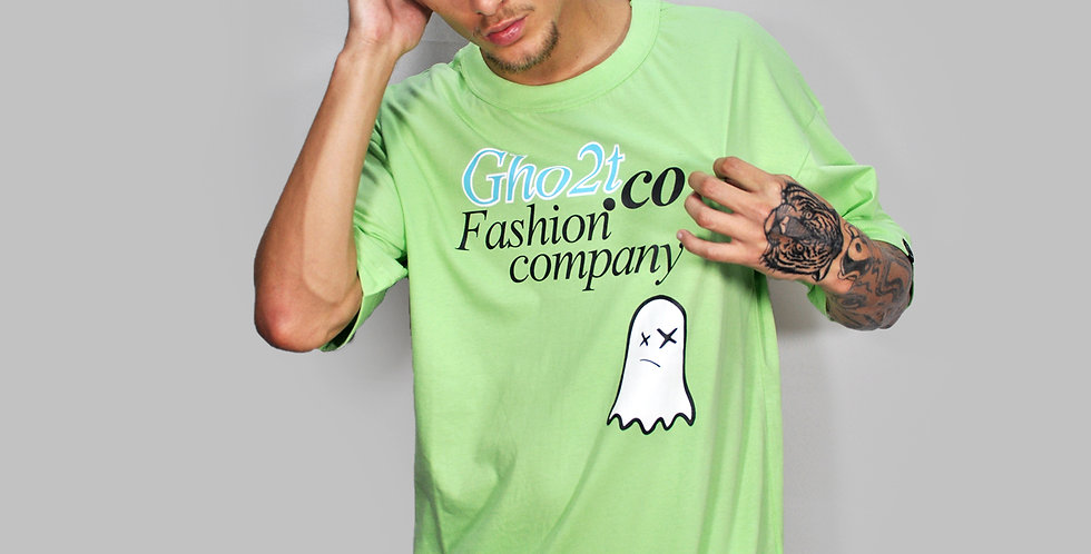 Camiseta Gho2t.Co Green